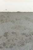 Wet cement texture in building construction site Royalty Free Stock Photo