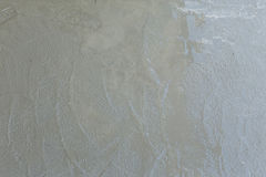 Wet cement texture in building construction site Royalty Free Stock Photography