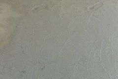 Wet cement texture in building construction site Stock Photography