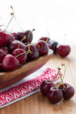 Wet Cherries Stock Images