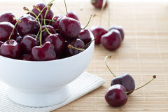 Wet Cherries Stock Photo