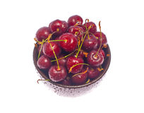 Wet cherry Royalty Free Stock Image
