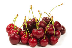 Wet cherry mountain Royalty Free Stock Photos