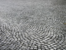 Wet cobblestones Royalty Free Stock Photo