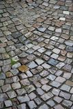 Wet Cobblestones. After a downpour of rain the cours are at ther best in cobblestones Stock Image