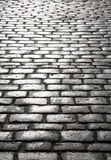 Wet cobblestones. Stock Image