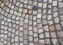 Wet cobblestones Royalty Free Stock Photos