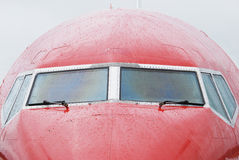 Wet cockpit. Close up view Royalty Free Stock Images
