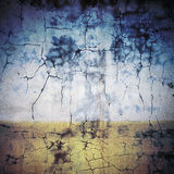 Wet color plaster wall Royalty Free Stock Photos