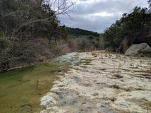 Wet creek in Austin Texas Stock Photography