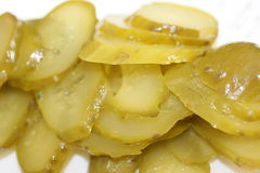 Wet cut pickles Stock Photos