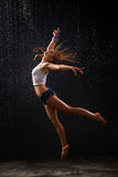Wet dancing Royalty Free Stock Images