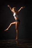 Wet dancing Stock Images