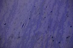 Wet drips on the blue plastic roof royalty free stock images