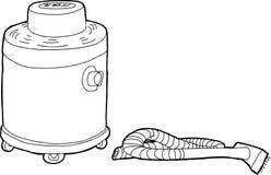 Wet-Dry Vacuum Outline Stock Photo