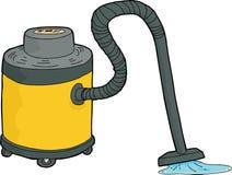 Wet-Dry Vacuum Sucking Water Stock Image