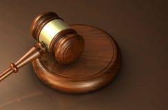 Wet en Advocaatrechtvaardigheid Symbol Royalty-vrije Stock Foto's