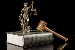 Wet en Rechtvaardigheid stock foto