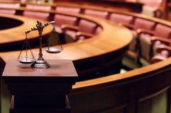 Wet en Rechtvaardigheid Royalty-vrije Stock Foto