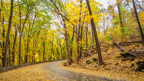 Devil`s Lake State Park in Fall royalty free stock images