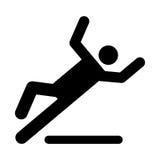 Wet floor caution sign Stock Photography