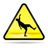 Wet Floor Sign. Wet Floor Yellow warning Sign Royalty Free Stock Photos