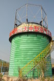 Wet gas holder Stock Photos