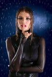 Wet girl Stock Photos