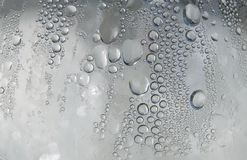 Wet glass surface royalty free stock photography