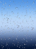 Wet glass window background Royalty Free Stock Photo