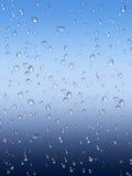 Wet glass window background vector illustration