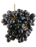 Wet grape on white Royalty Free Stock Photography
