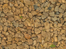 Wet gravel (seamless texture). This image shows a part of slightly wet gravel road, photographed during overcast day at summer. It was carefully post-processed Stock Photo