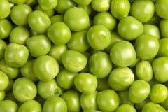 Wet green peas Royalty Free Stock Image