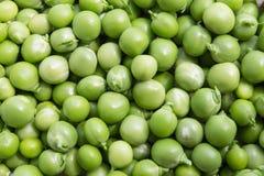 Wet green peas Royalty Free Stock Photos