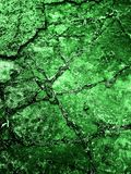 Wet Green Shiny Background with Diagonal Lines Stock Images