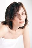 Wet hair Royalty Free Stock Photography