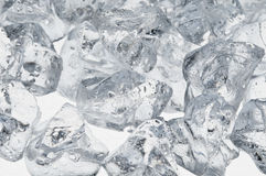 Wet ice cubes objects Royalty Free Stock Photos