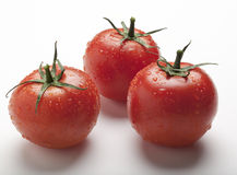 Wet Juicy Tomatoes Royalty Free Stock Photography