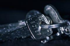 Wet keys Stock Photo