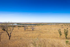 Wet lands in outback Australia. Royalty Free Stock Image