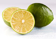 Wet lime Royalty Free Stock Photos