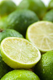 Wet Limes. Royalty Free Stock Photos