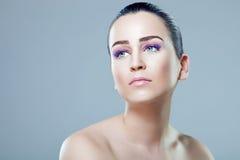 Wet look beauty portrait Stock Photo