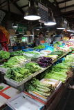 Wet market in downtown Shanghai.. Royalty Free Stock Photography