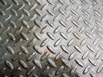 Wet Metal With Crossing Pattern Royalty Free Stock Image