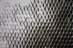 Wet metal sheet Royalty Free Stock Images