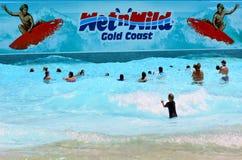 Wet'n'Wild Gold Coast Queensland Austrália Imagens de Stock