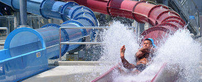 Wet'n'Wild Gold Coast Queensland Australien Lizenzfreie Stockfotos