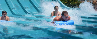 Wet'n'Wild Gold Coast Queensland Australien Lizenzfreies Stockfoto